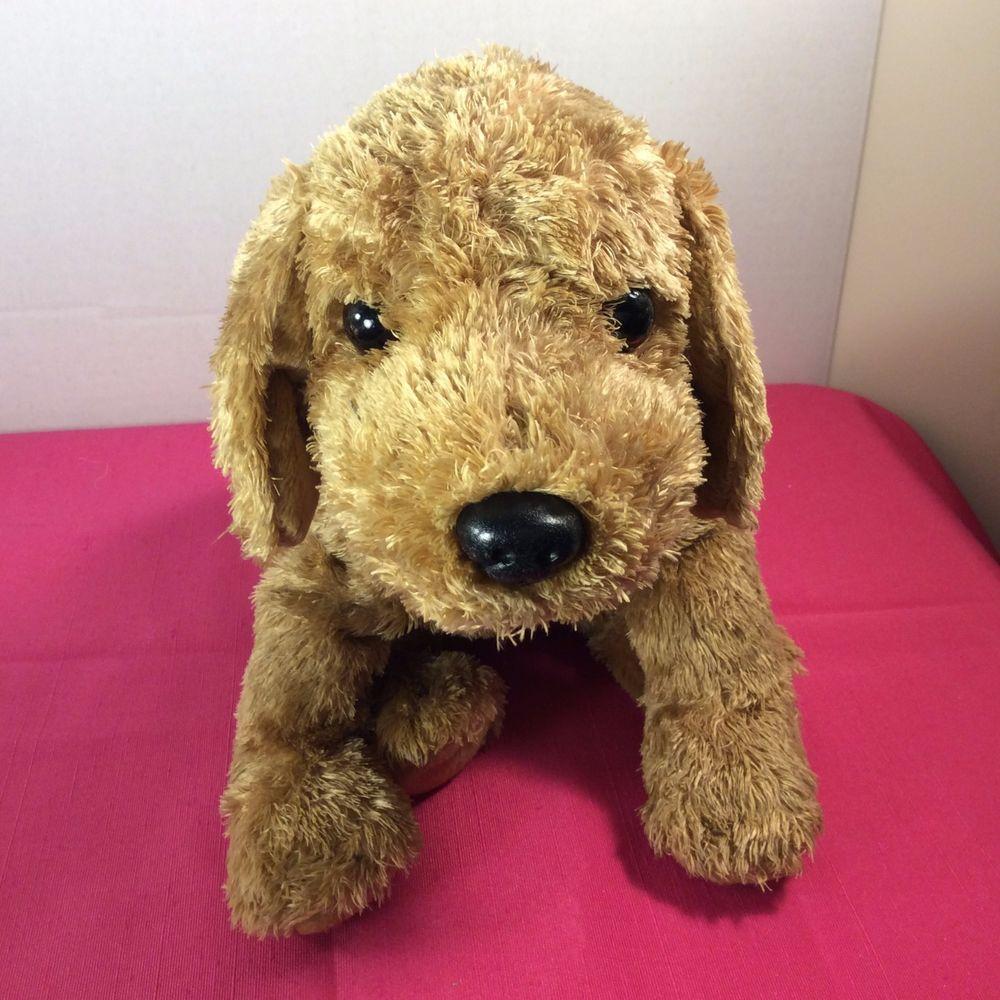 Ty Classic Scrapper Brown Ear Puppy Dog Plushtysilk 2002 Stuffed
