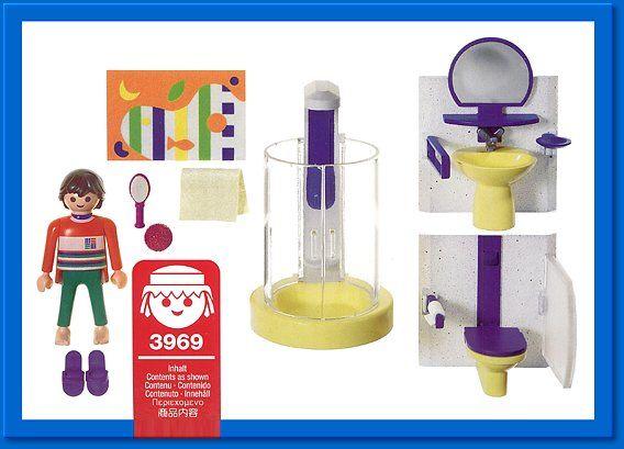 PLAYMOBIL  set #3969 - Modern Bathroom playmobil Pinterest - playmobil badezimmer 4285