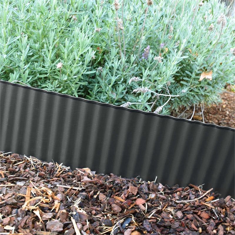 Cyclone 150mm x 6m Corrugated Garden Edging Garden