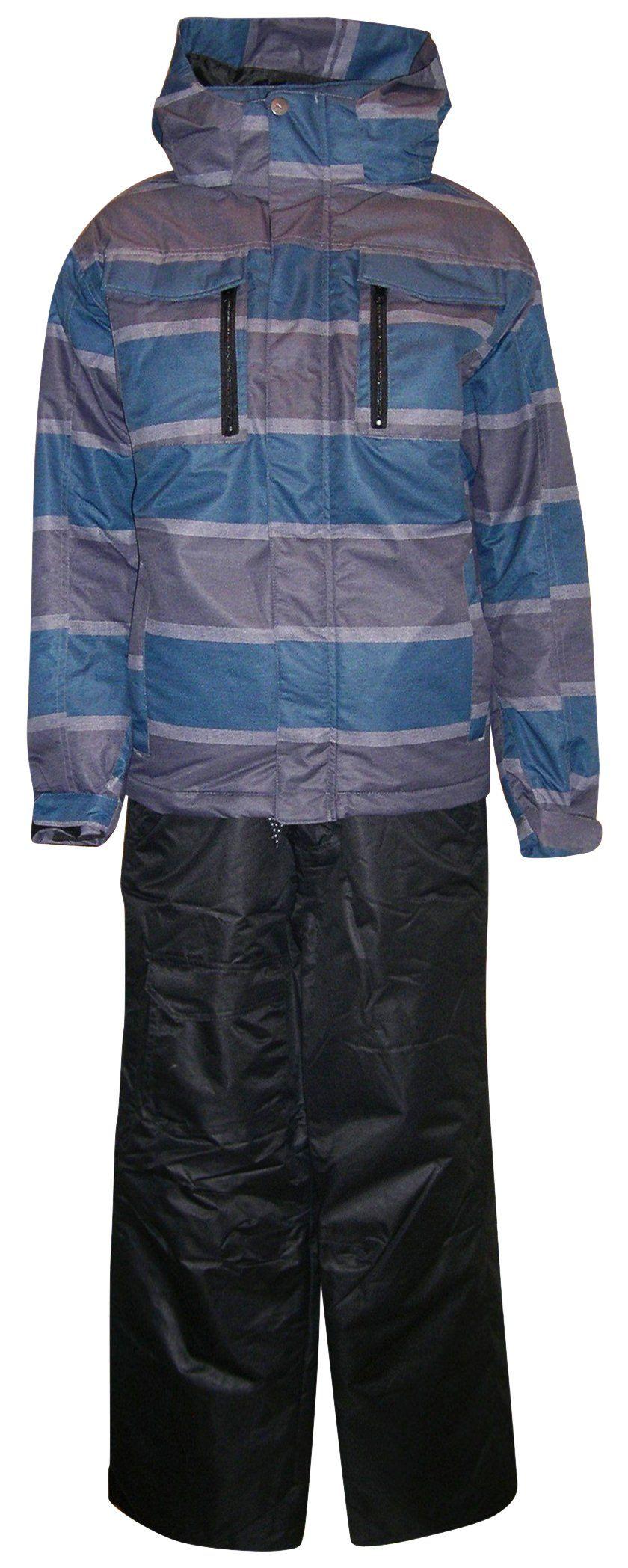6fd9aecc8 Pulse Big Boys Youth Kids 2 Piece Snowsuit Jacket Pants Set Daze (M ...