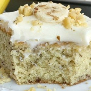 Banana Bread Cake with Cream Cheese Frosting | Together as Family