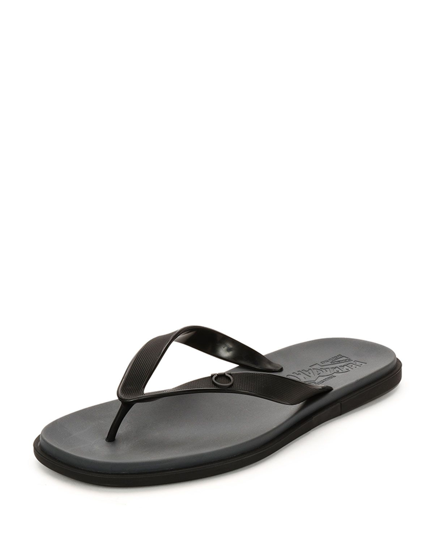 151d20fe7106 Salvatore Ferragamo Guinea Gancini Flip-Flop Sandal