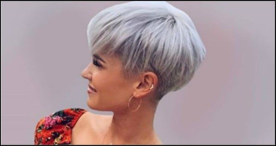 Trendy Kurzhaarfrisuren Undercut Frauen