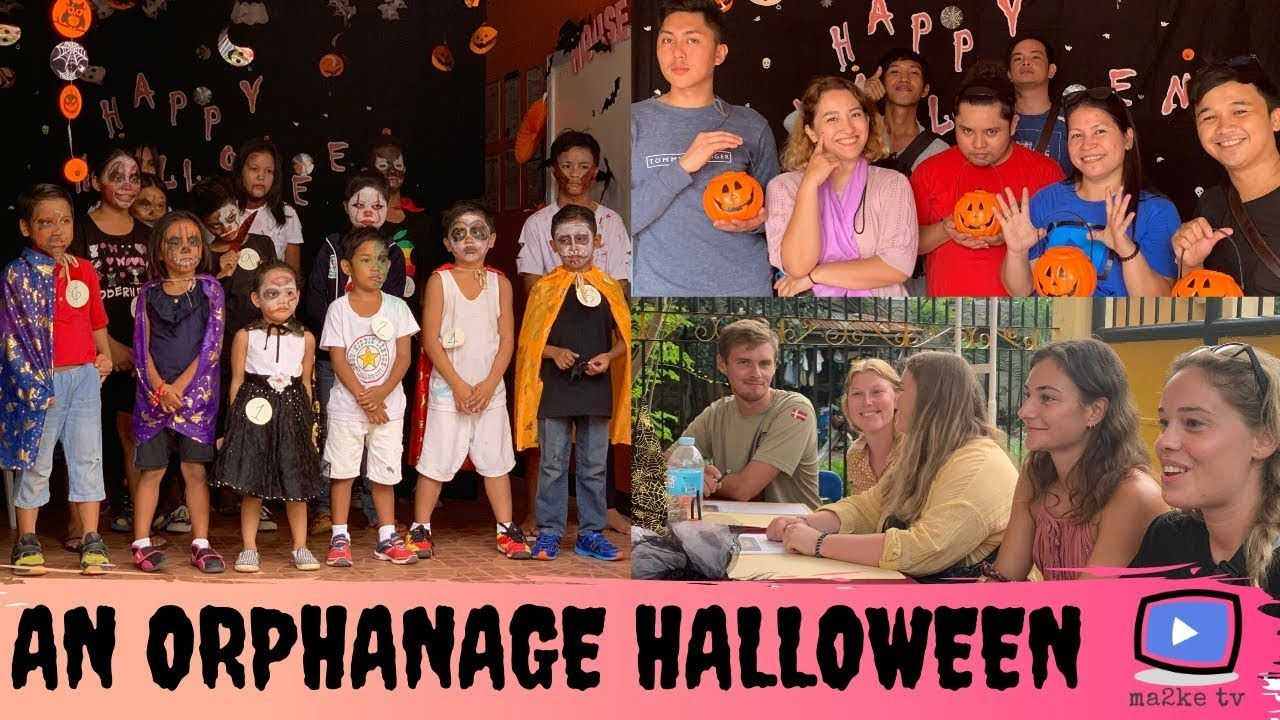 Celebrating Halloween With The Kids House Of Dreams Orphanage Ma2ke Tv Dares And Challenges
