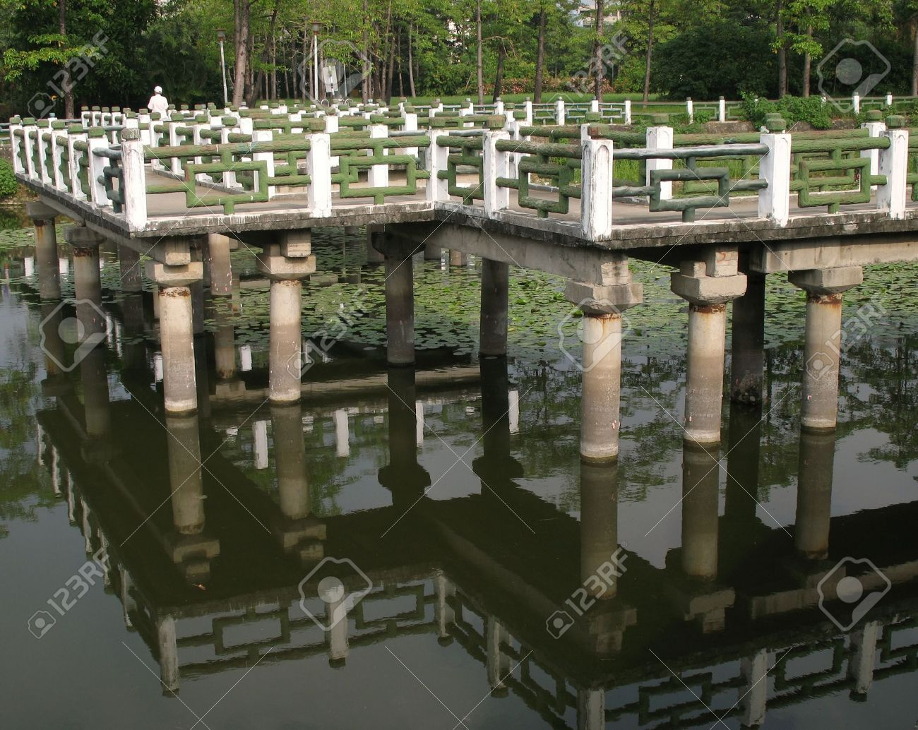 Wonderful 2103900 Chinese Zigzag Bridge This Is A Traditional  Nice Ideas