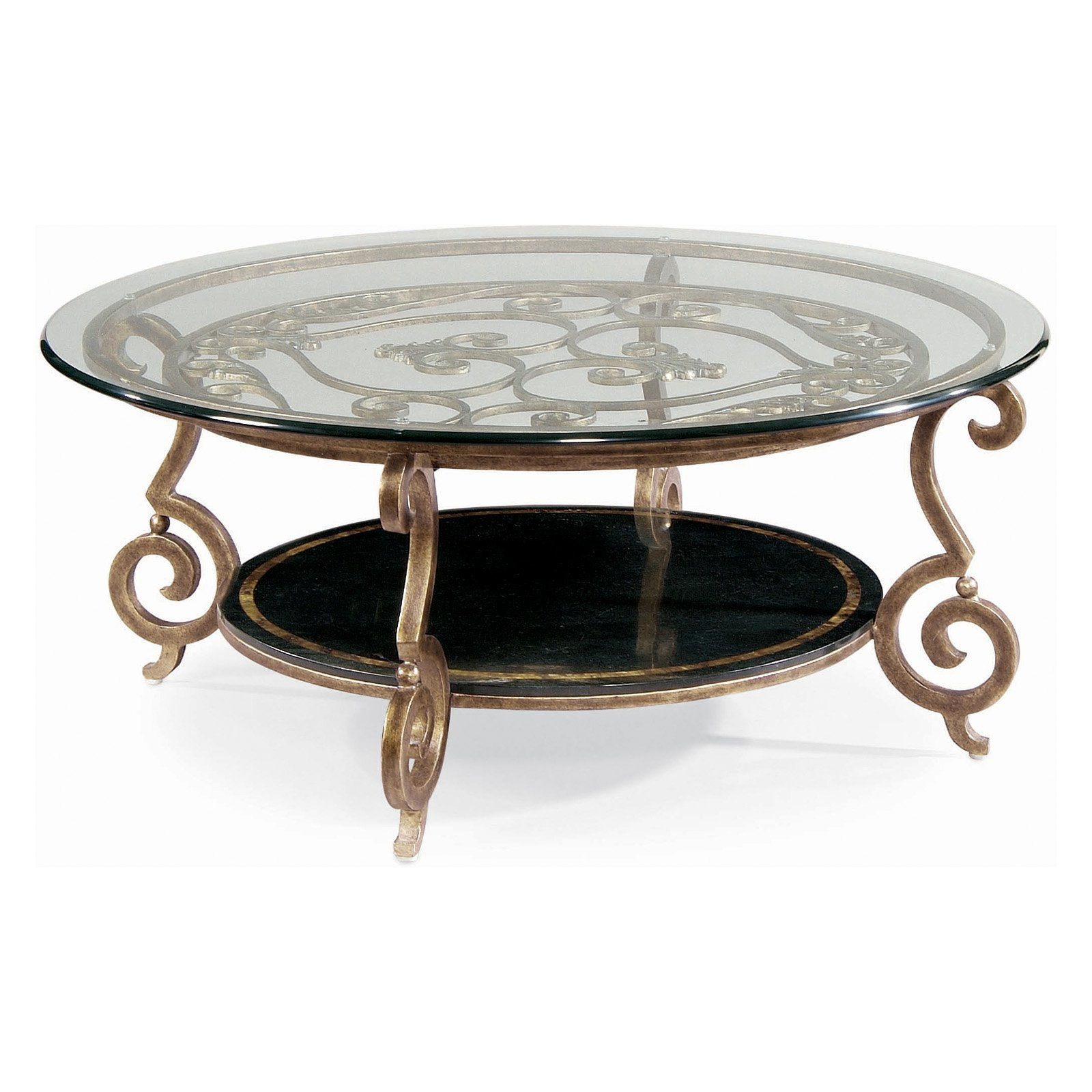 Bernhardt Zambrano Round Glass Top Coffee Table Www Hayneedle Com Coffee Table Round Cocktail Tables Glass Coffee Table [ 1600 x 1600 Pixel ]