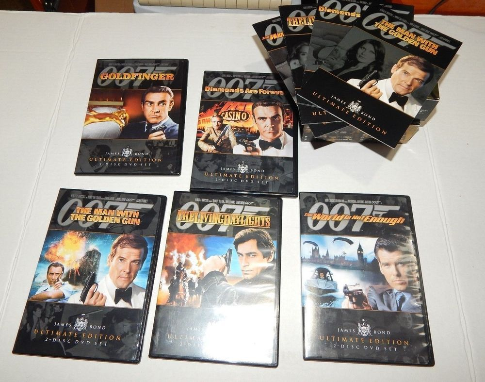 Review of the james bond ultimate dvd collection youtube.