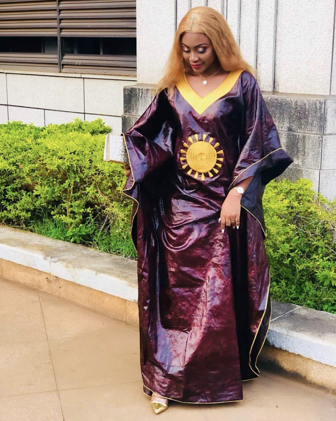 #teinture #bazin | Robe africaine, Mode africaine, Mode africaine robe