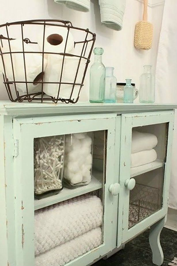 How to give a vintage flair to your bathroom #vintage #decor #homedecor…