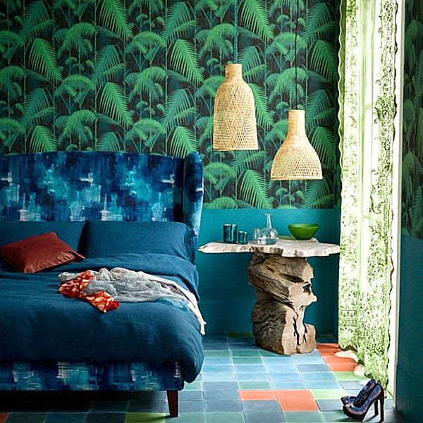stay warm this winter in a tropical bedroom - Tropical Bedroom Decoration