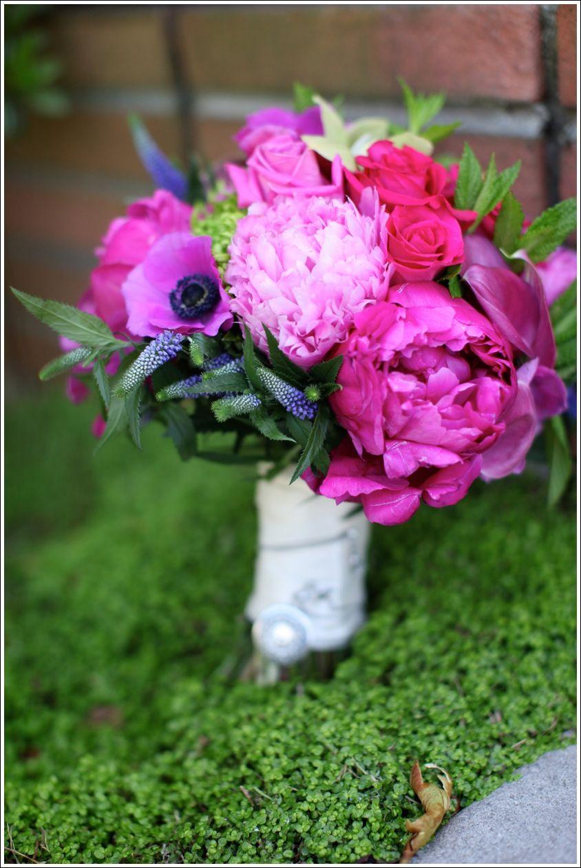 Wedding day flowers South coast botanic garden