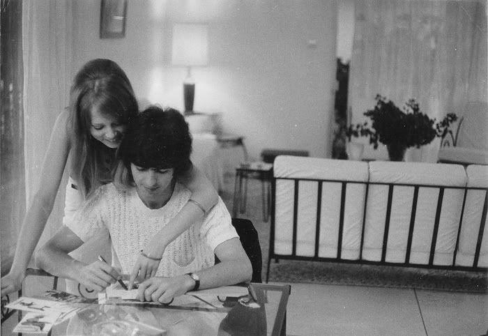 pinterest pattie boyd harrison and george harrison marriage | Pattie Boyd & George Harrison