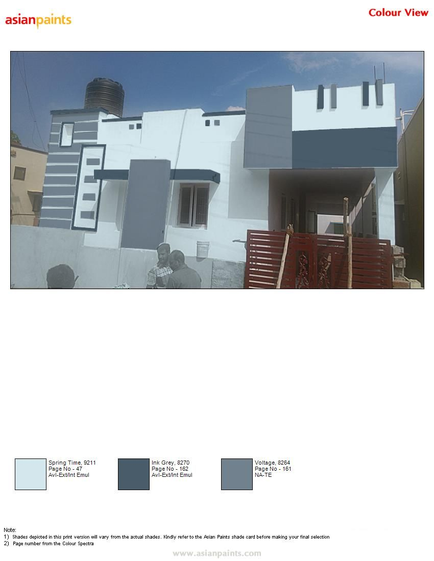 Pin By Lidiya On Monochromatic Color Asian Paints Colour Shades Asian Paints Colours Exterior Color Combinations