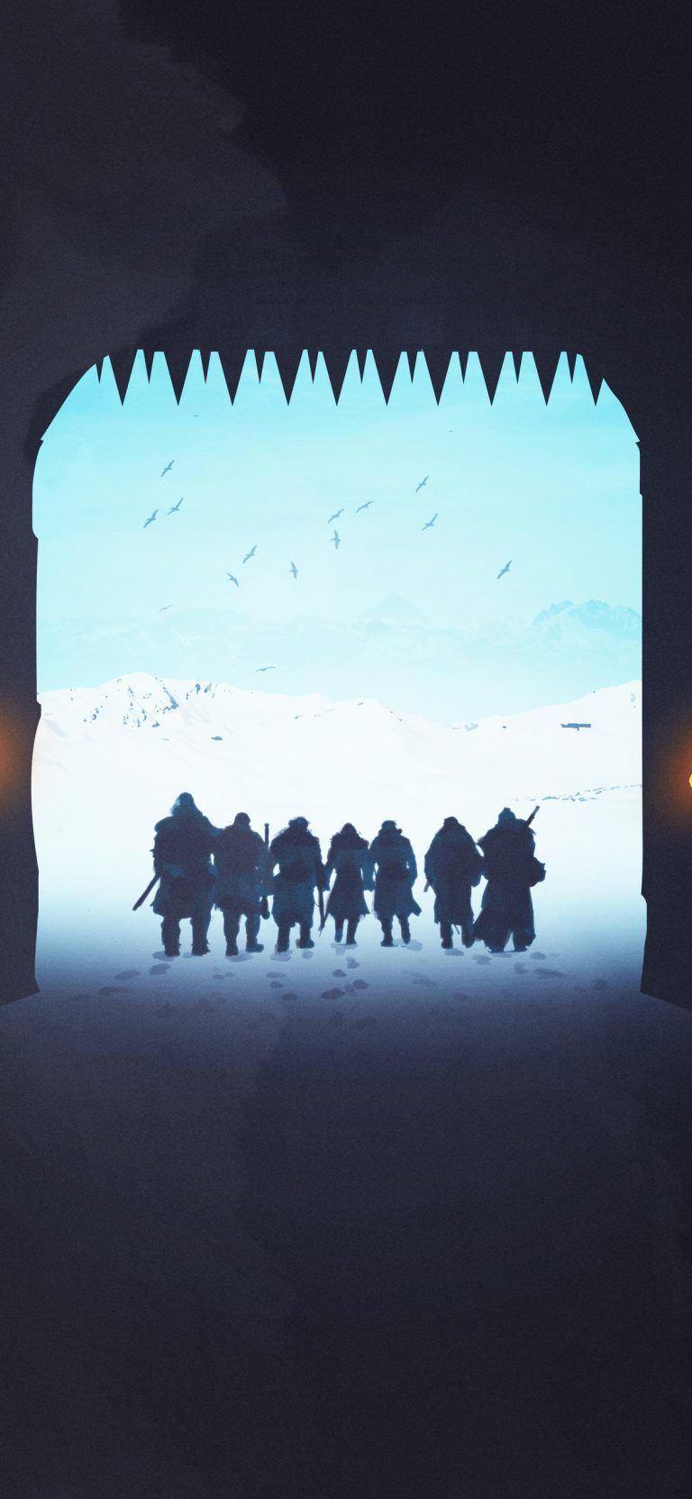 Game Of Thrones Night Watch The Wall Iphone Game Of Thrones Wallpaper 4k Wallpaper Iphone Iphone Wallpaper Iphone 7 Wallpapers