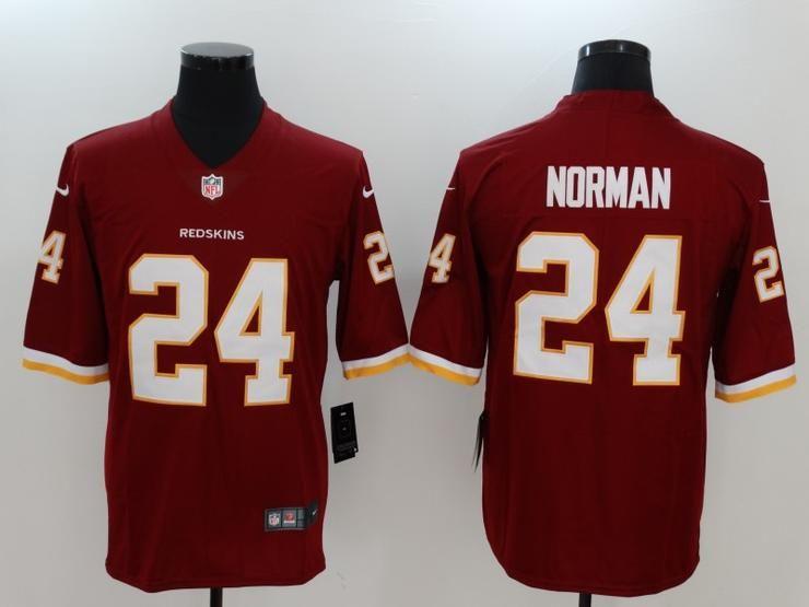 fc4f2b2d9 Men 24 Josh Norman Jersey Football Washington Redskins Jersey ...