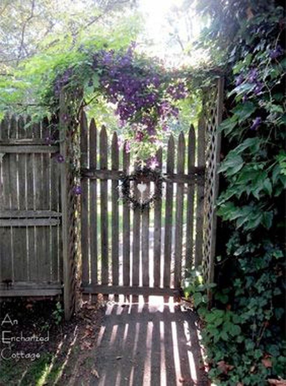 60 Amazing Garden Gates and Fence Design Ideas | Garden ...