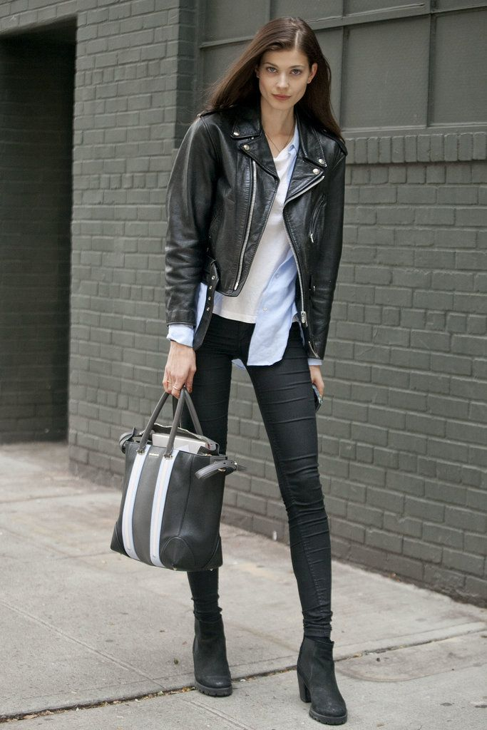 Model Street Style at NY Fashion Week Spring 2014 | Pictures | POPSUGAR Fashion
