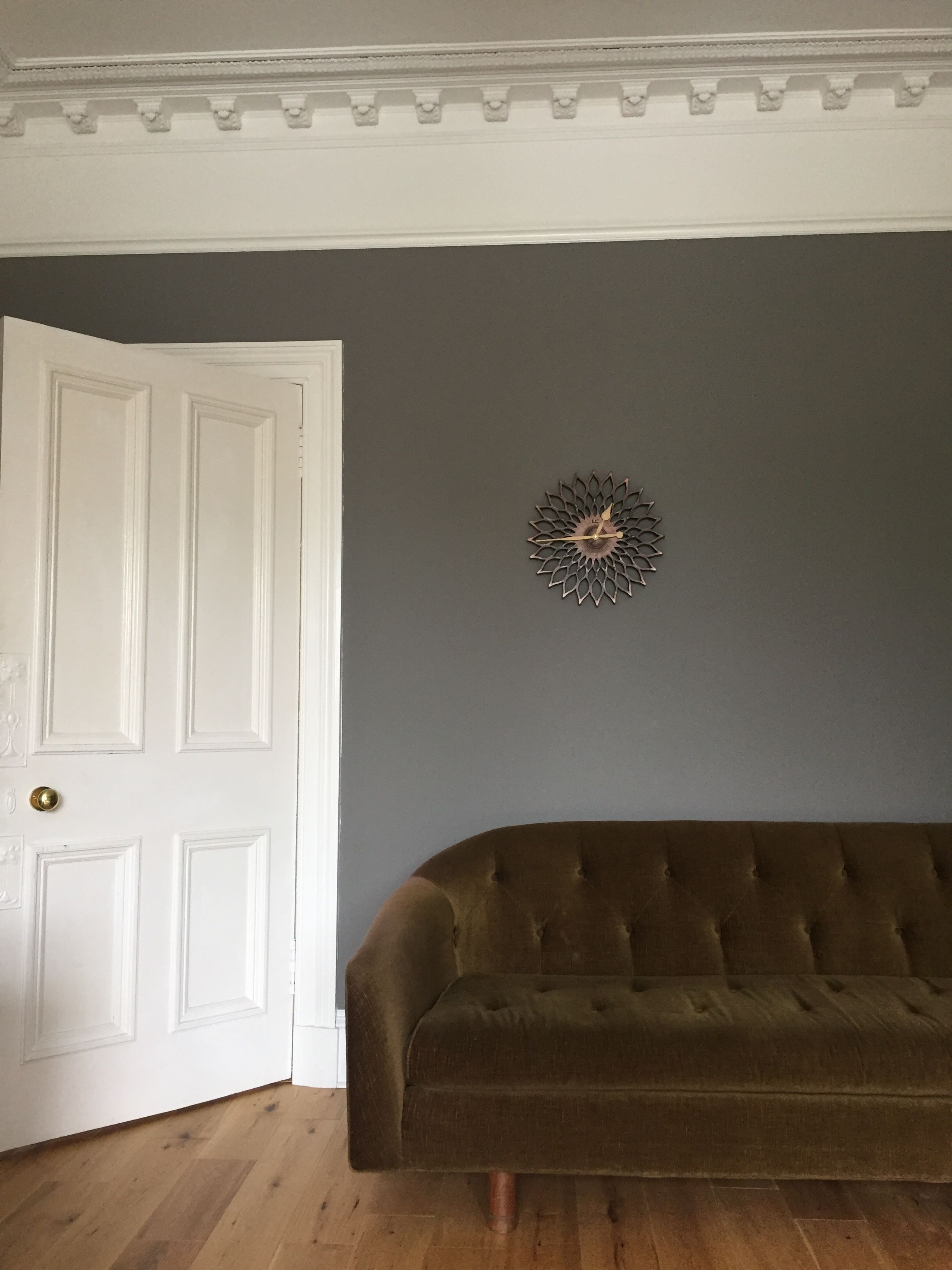 Farrow And Ball Mole S Breath Farrow And Ball Living Room Living Room Grey Paint Colors For Living Room