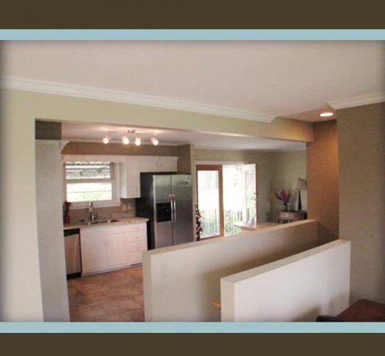 Impressive Kitchen Design With Basement Stairs Best Ideas ...