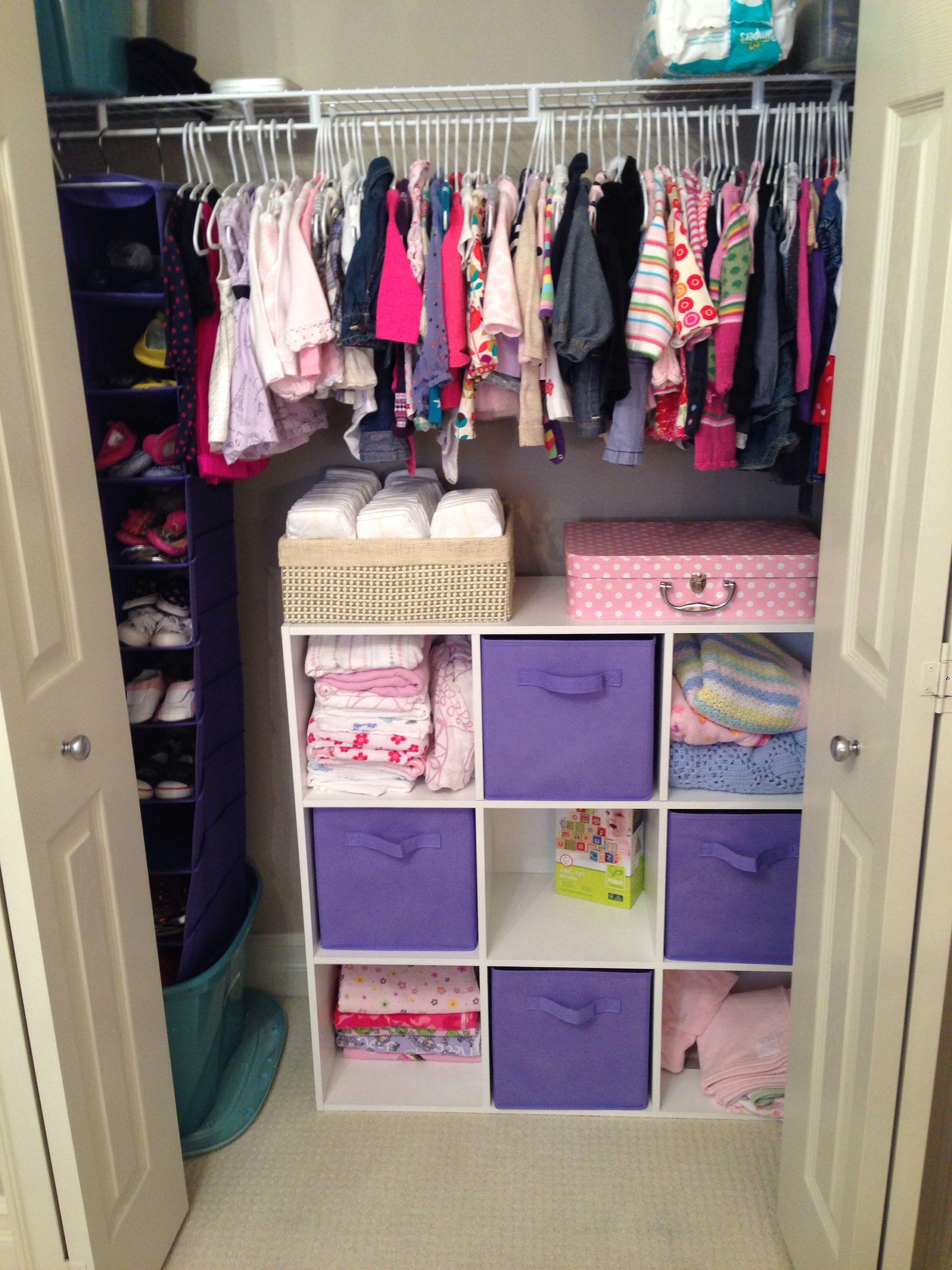 closet ideas for girls. Baby Girl\u0027s Closet Organization. Ideas For Girls
