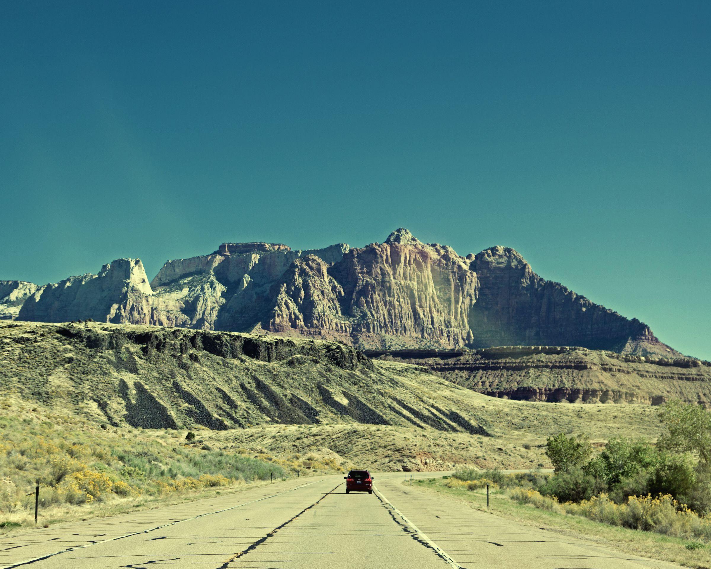 The road in SW Utah.