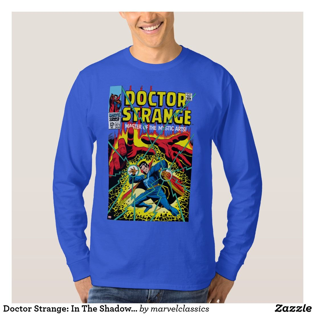 6e770f2f35c3 Doctor Strange: In The Shadow Of Death T-Shirt. Awesome Marvel Classics: Dr.  Strange vintage Classic designs to personalize as a gift for yourself or ...