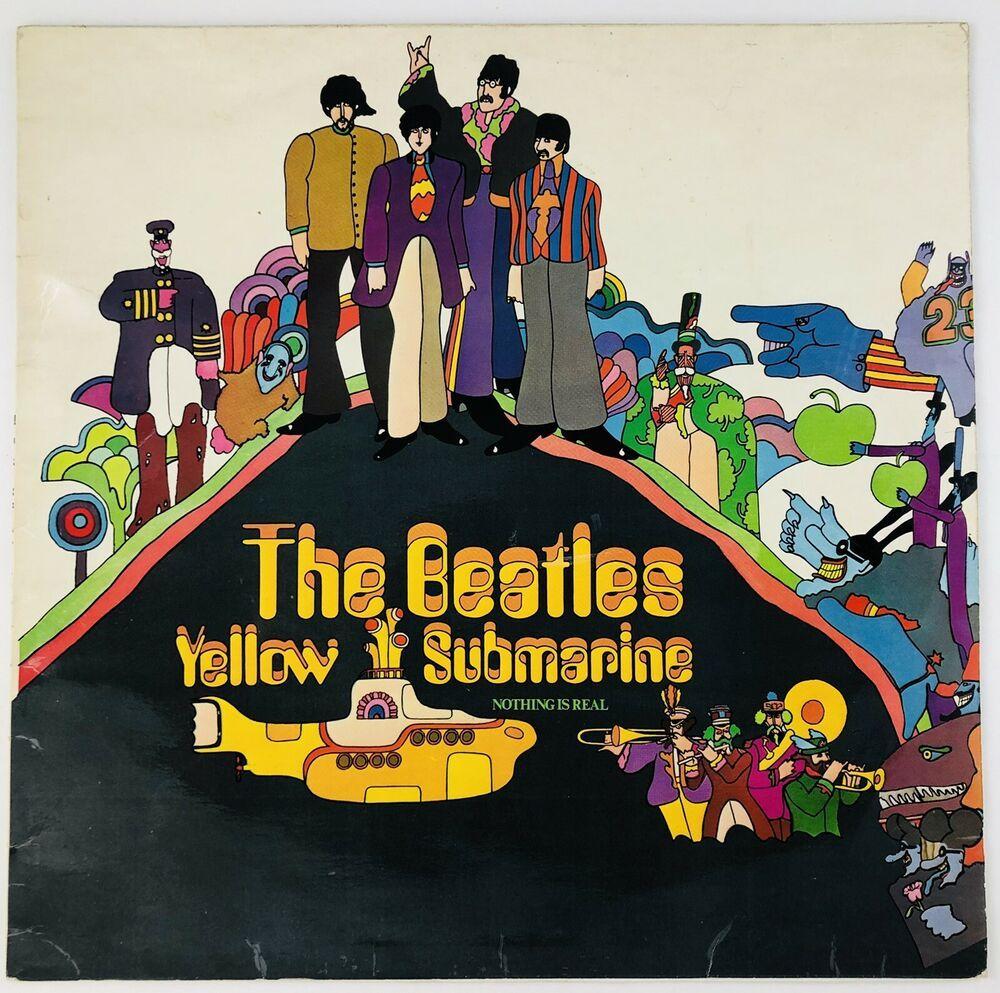 #TheBeatles #Yellow #Submarine #UK #LP #Apple #Records PCS 7070 Yex 715-4 (VG+) #Tested #PopRock #PsychedelicRock #pop #music #beatles #rock #rocknroll #movies #soundtrack #albumart #artist #etsy #ebay #amazon #discogs @vinyl_depot