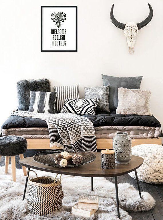 Living Room Interior Design Pdf: Haunted Mansion Cross Stitch Pattern, Welcome Foolish