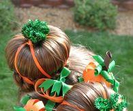 Halloween Pumpkin Hair