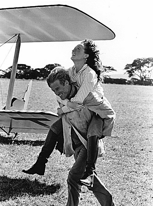 Meryl Streep and Robert Redford - Out Of Africa