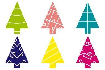 Scherenschnitt Tannenbäume Pdf Advent Weihnachten Baum