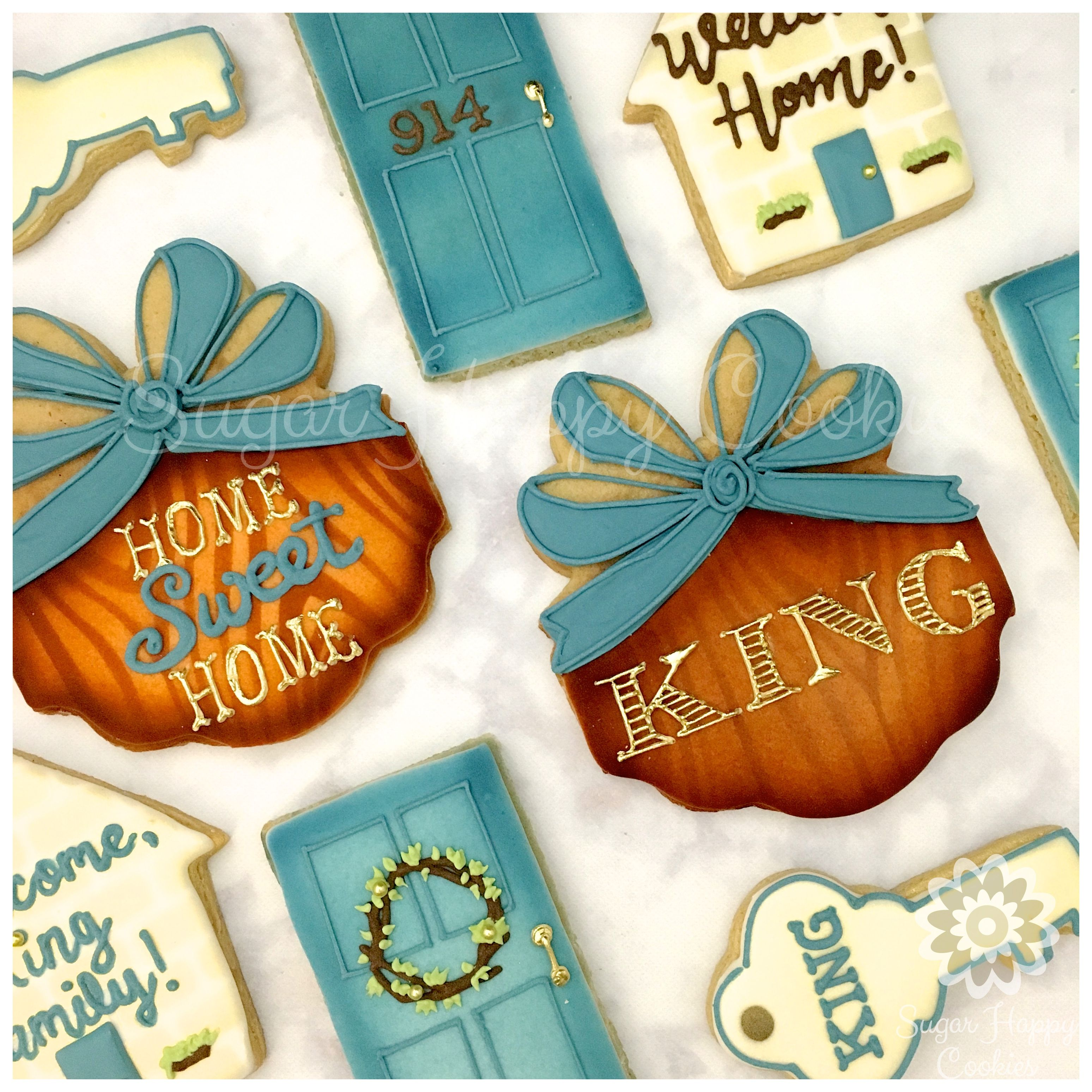 Home Design Gift Ideas: Welcome Home Gift , House Warming Gift , Realtor Gift , Sugar