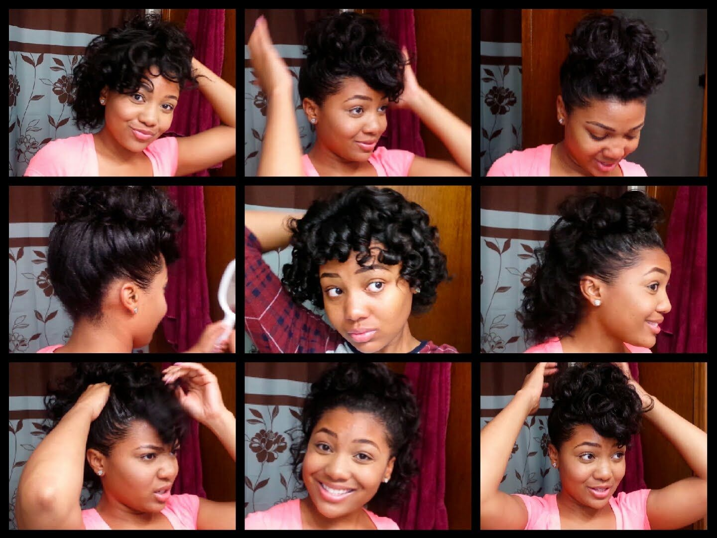7 Easy Hairstyles For Relaxed Hair Styles For Curled Hair Relaxed Hair Short Relaxed Hairstyles Curled Hairstyles