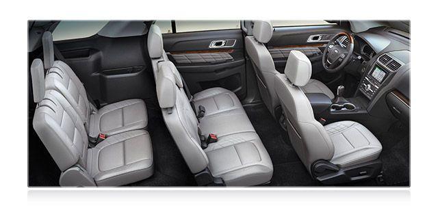 2017 ford explorer comfortable interior subaru pinterest ford explorer ford and cars. Black Bedroom Furniture Sets. Home Design Ideas
