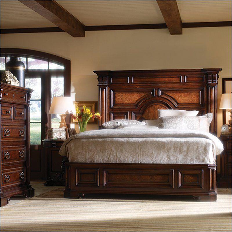 Stanley Furniture Costa Del Sol Stateroom Mansion Bed in Cordova