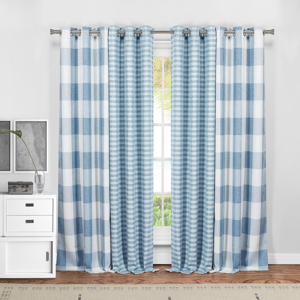 Duck River Colin 84 In L X 37 In W Polyester Blackout Curtain