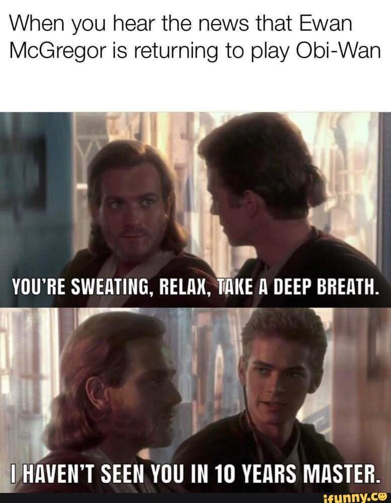 Ifunny Memes Picture U9w9pm707 Star Wars Obi Wan Star Wars Humor Funny Star Wars Memes