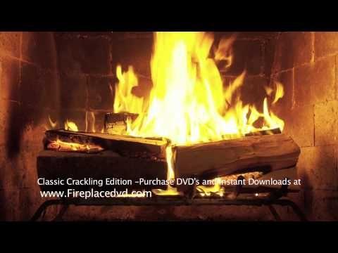 Fireplace Crackling Yule Log In Hd 1080p Free Youtube