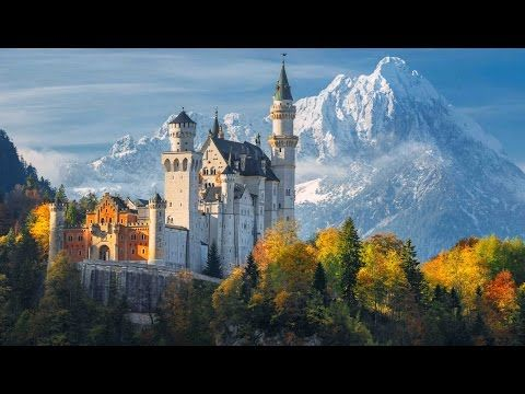 Relaxing Music Peaceful Music Instrumental Music Beautiful World By Tim Janis Youtube Germany Castles Neuschwanstein Castle Beautiful Castles