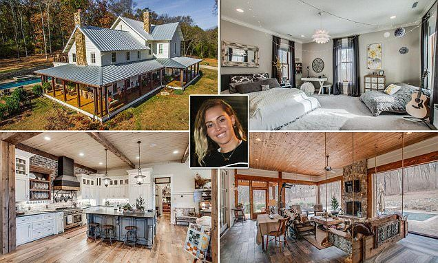 Miley Cyrus buys $5.8million house in Tennessee   House, Log cabin ...