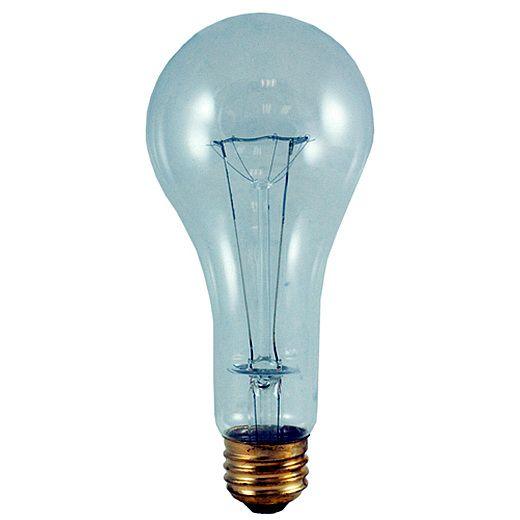 Bulbrite 200A/CL/HL 200 Watt High Lumen Incandescent A23 Medium Base Clear 24 Bulbs