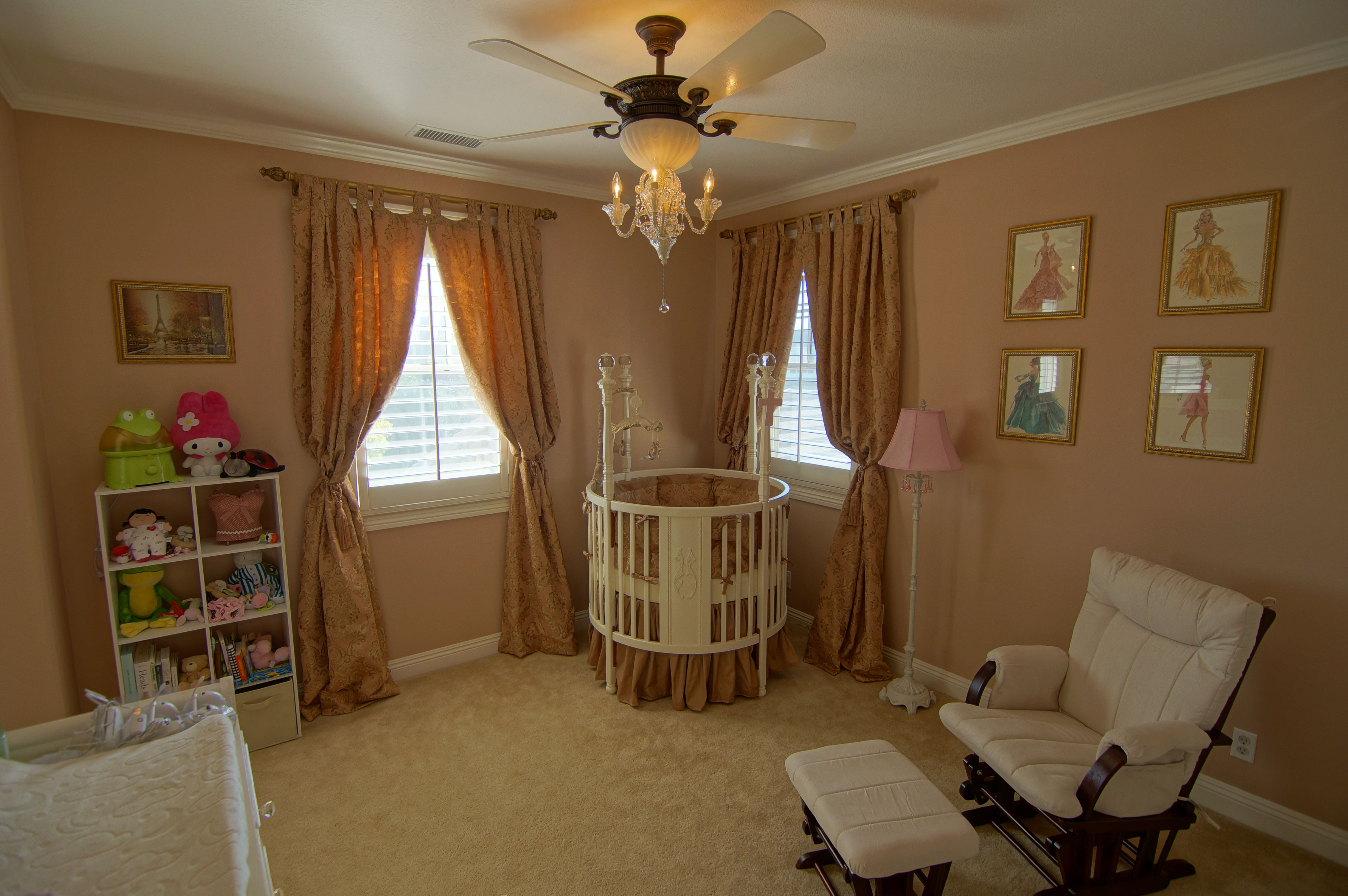 Baby Lily S Room With Round Crib Favorite Places
