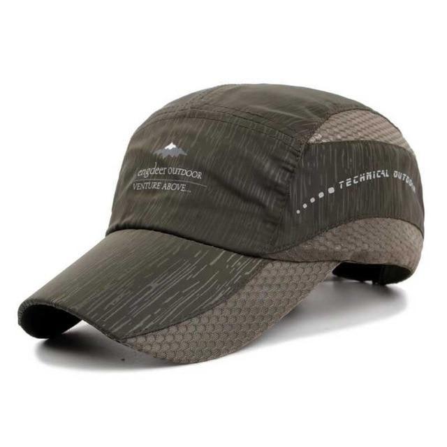 629337e5 Quick Dry Baseball Cap Outdoor Sports Snapback for Men Women Sun Hat Mesh  Summer Cap Breathable Waterproof Lightweight Visor