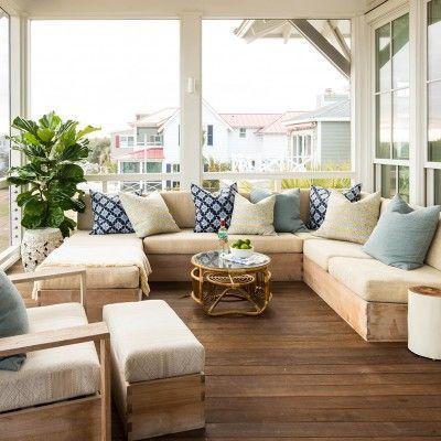 Terrazas Cubiertas Decoradas Decoración Chill Out Porch