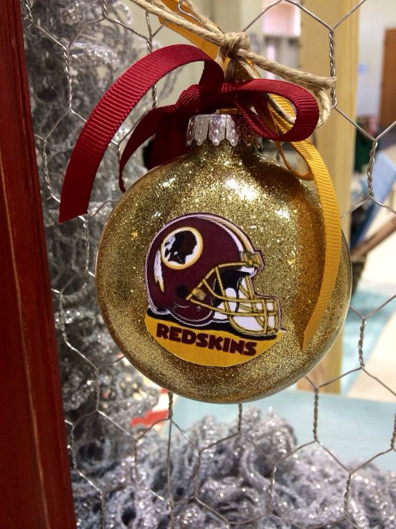 Redskins Ornaments Christmas ornaments by LindsayLettering ...