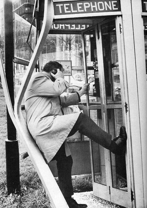 hang up.