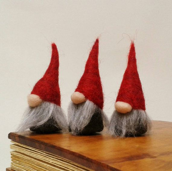 Christmas Decorations Norwegian Christmas Gnomes By