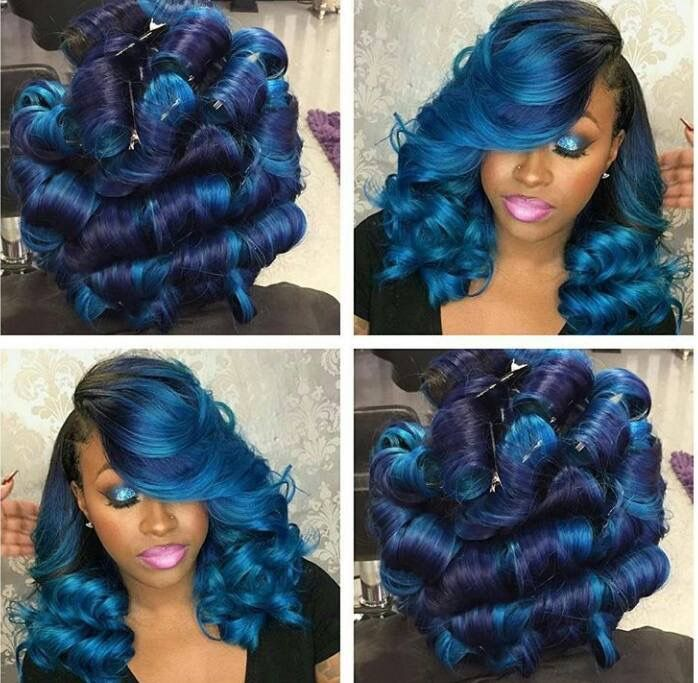 Unique Hirstylescute Sew In Weave Hairstyles With Color