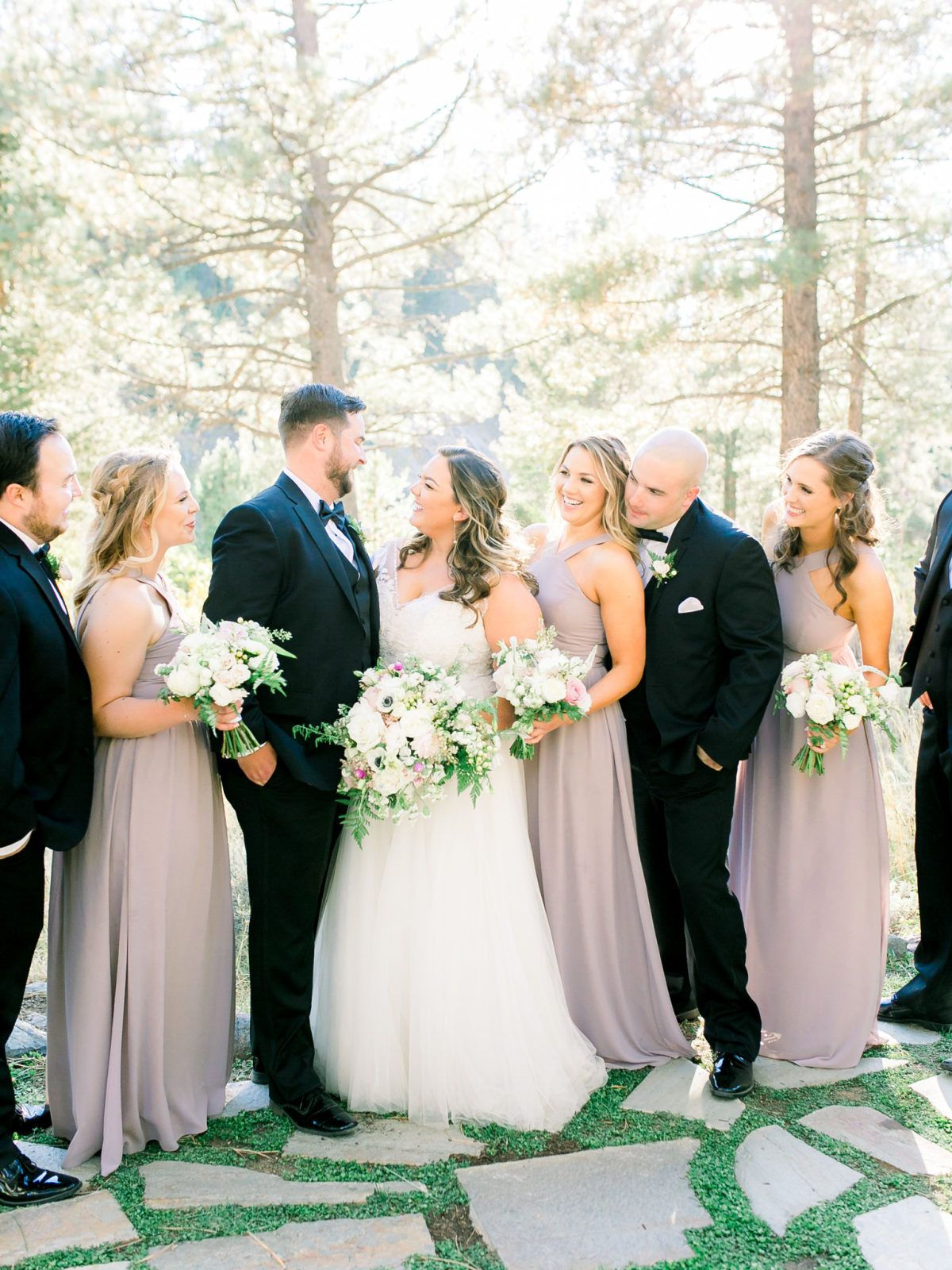 This al fresco dancing pines wedding is a breath of fresh air