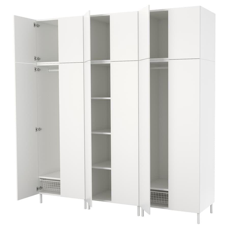 Platsa Guardaroba Bianco Fonnes Bianco Idee Ikea Guardaroba